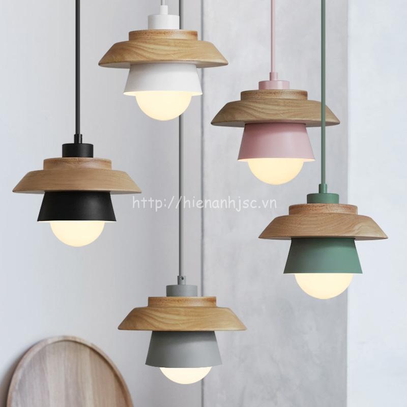 Đèn thả trang trí với 5 màu sắc hiện đại