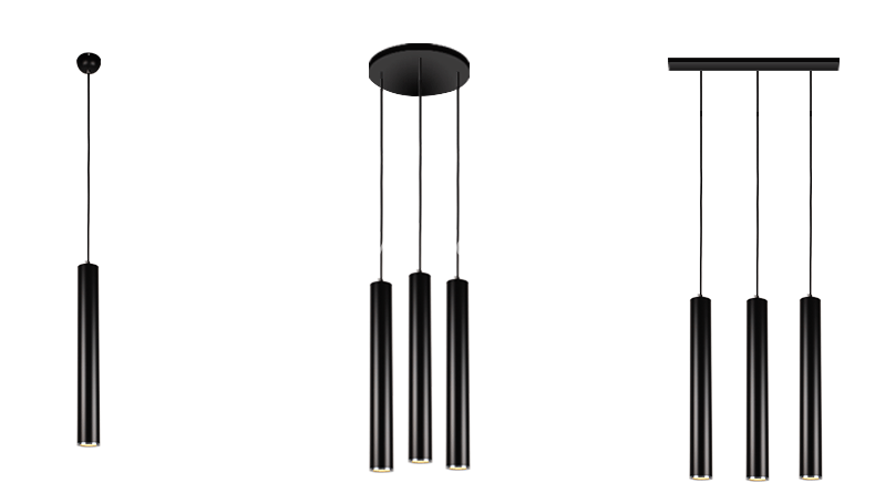 Đế gắn tường của đèn bạn cũng có thể lựa chọn theo 3 mẫu như sau