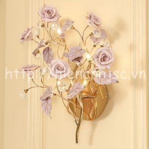 DTT043-4-den tuong trang tri hoa hong
