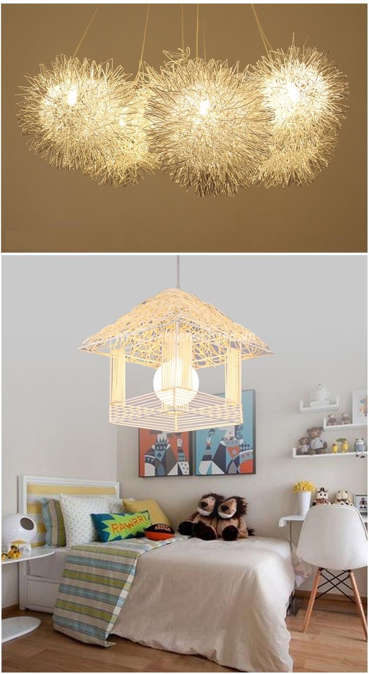 Đèn led sáng tạo thân nhôm hình ngôi nhà