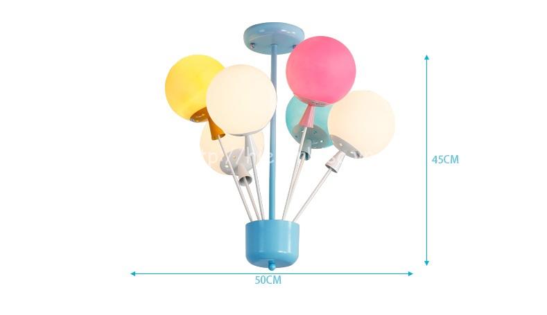 Kích thước của đèn chùm bóng bay