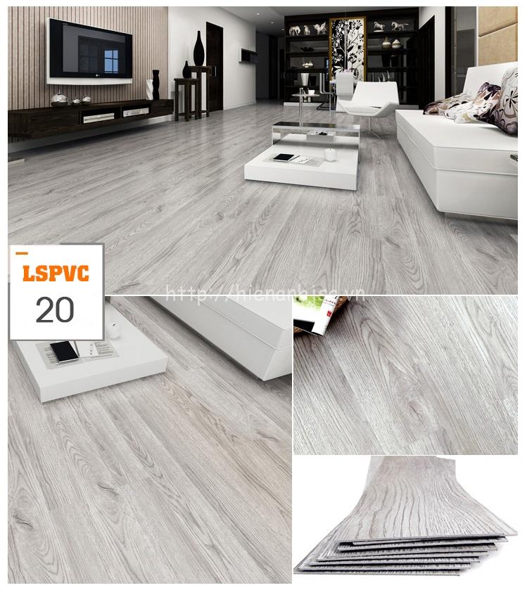 Miếng dán sàn đa năng PVC tự dính 15 mẫu giả gỗ mã 20