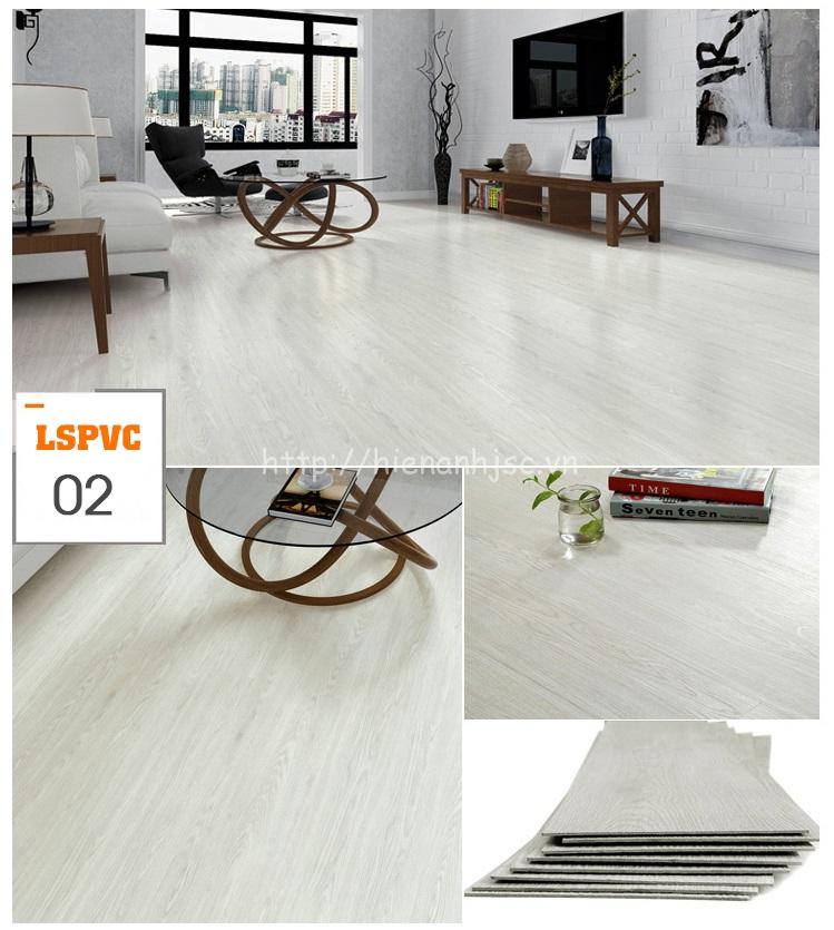 Miếng dán sàn đa năng PVC tự dính 15 mẫu giả gỗ mã 02