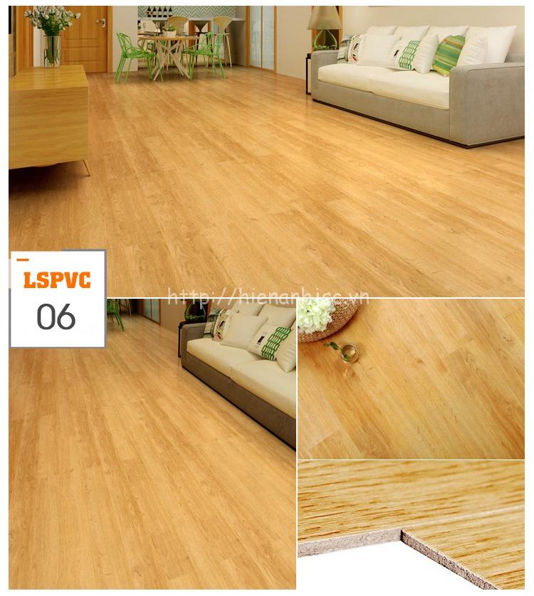 Miếng dán sàn đa năng PVC tự dính 15 mẫu giả gỗ mã 06