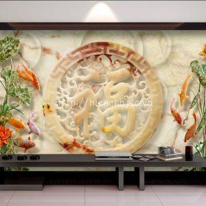5D151-1-tranh dan chu phuc hoa sen ca chep gia ngoc - Copy (2)