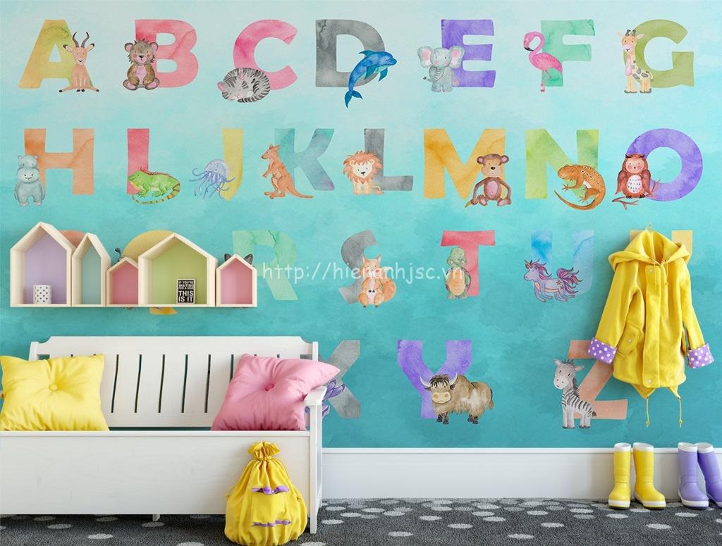 Bức tranh sắc màu này sẽ khiến căn phòng thu hút hơn với bé yêu của bạn