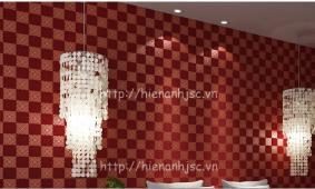 Giấy dán tường phòng karaoke | Mẫu giấy 3D cao cấp Hiển Anh
