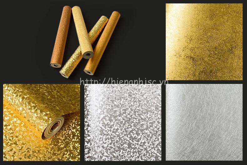 Một số họa tiết vàng và màu bạc đang được người dùng ưa chuộng