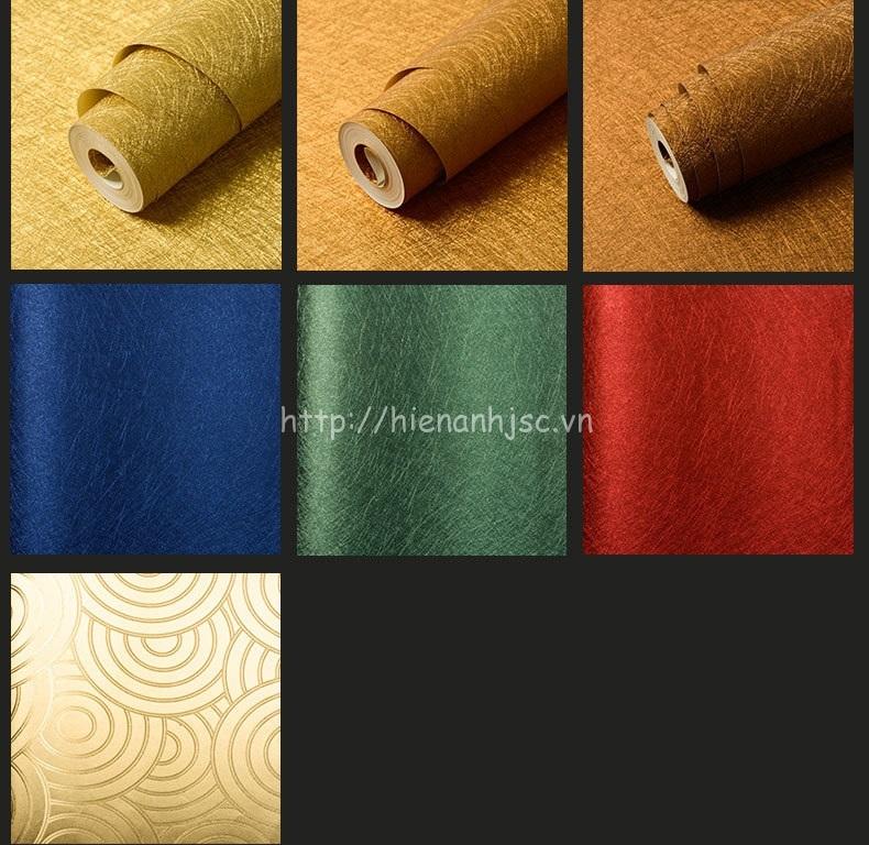 Ngoài ra còn một số mẫu vân kim loại và các màu sắc nổi bật khác