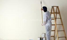 Những bề mặt có thể dán tranh, giấy dán tường và các lưu ý
