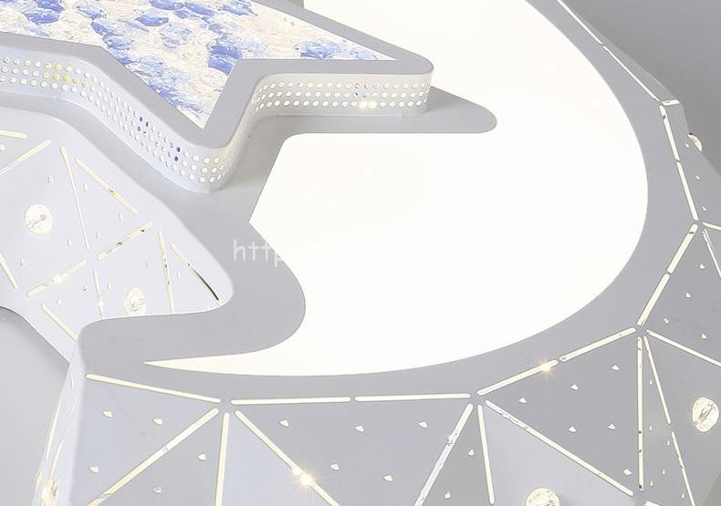 Đèn trần LED trang trí mặt trăng sáng tạo DTT058