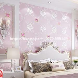 họa tiết hoa hồng phong cách Châu Âu 3D248-3