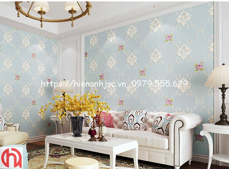 họa tiết hoa hồng phong cách Châu Âu 3D248-4