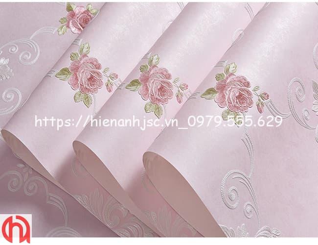 họa tiết hoa hồng phong cách Châu Âu 3D248-6