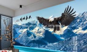 250   mẫu tranh dán tường đẹp nhất HOT nhất 2018