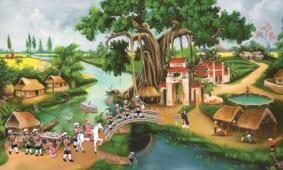 Địa chỉ bán tranh dán tường tại Quảng Ninh in 3D 5D rẻ đẹp nhất